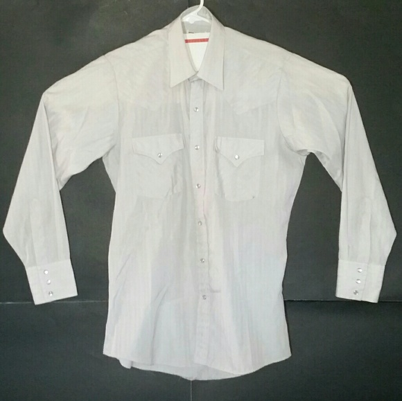 Ely Cattleman Other - Ely Cattleman Western Shirt Pearl Snap Buttons EUC